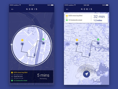 Time line with GPS