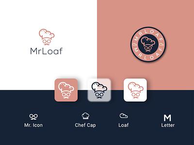 MrLoaf II Bakery Logo Design loaflogo foodmaker foodlogo bakerylogo bakery illustration logo modern logo design flat design minimalist logo graphic design logodesigner logodesignerforhire branding