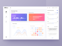 Dashboard UI for Business Background