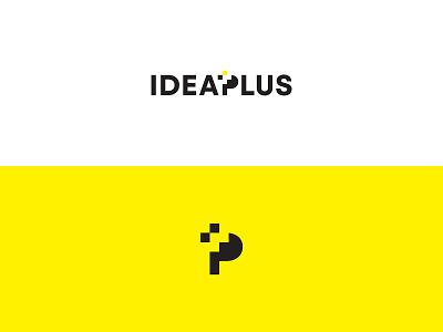 Idea Plus minimalist logo responsive vector graphic design design branding logo adobe illustrator