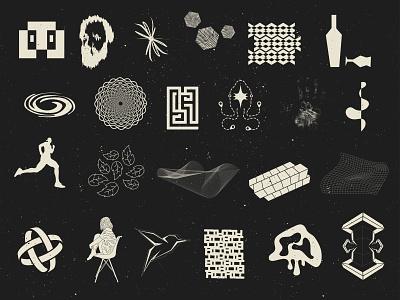 Hodgepodge Collection forfun stuff grunge texture adobe illustrator vector logo design