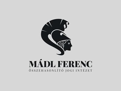 Mádl Ferenc institute of comparative law logo graphic design greek mythology athene adobe illustrator logo comparative law law