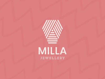Milla Jewellery illustrator branding graphic design logo adobe illustrator colourful leather recycled handcrafted handmade rings earings jewellery