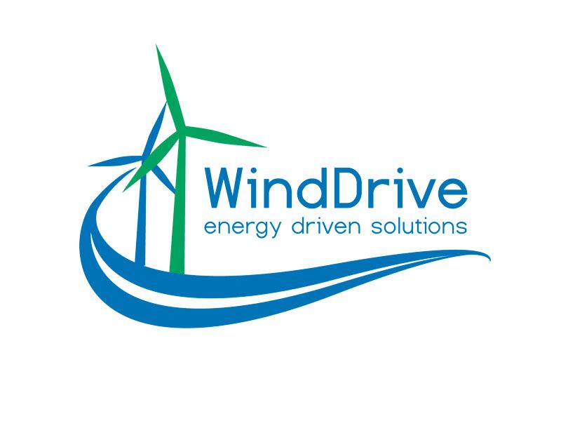 WindDrive design logo