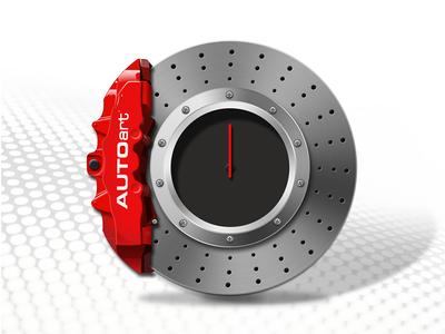 Brake Disc Clock icon