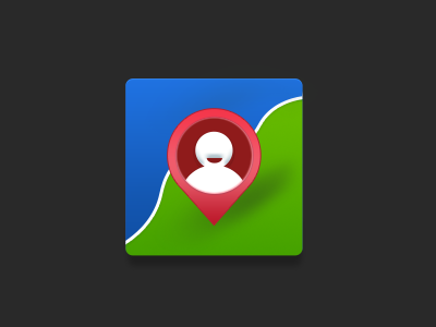 Map icon map icon theme find pin