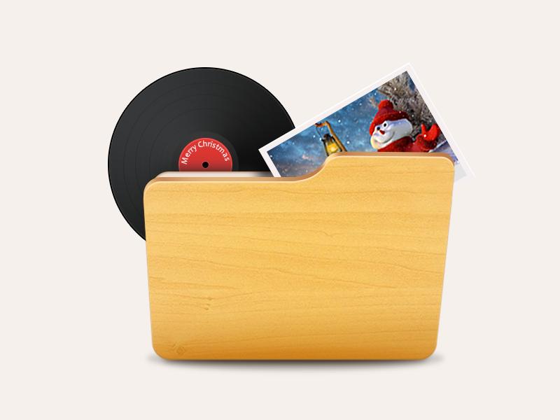 File backup icon file backup icon ui record photo storage christmas