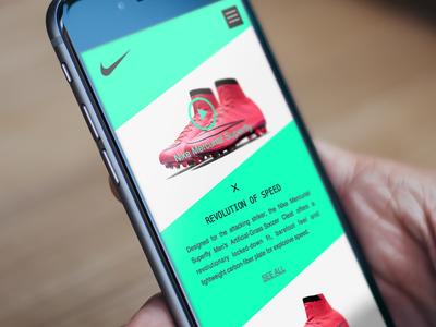 Nike Football Shoes App