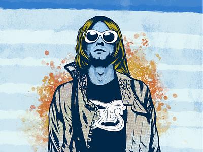 BLEW pop art portrait art illustration