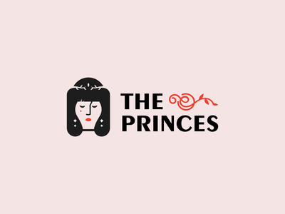 the princes illustration branding vector logo design