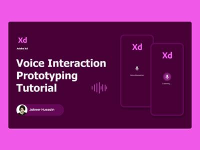 Voice Interaction design uxdesign