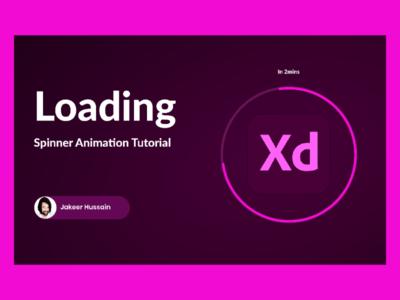 Loading spinner animation