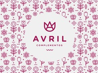Avril Complementos Logo + Pattern