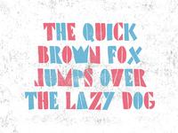 Precarios Stencil Typeface