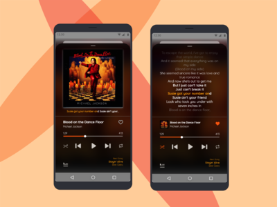 Best of #DailyUI - Day 009 - Music Player