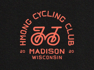 Hmong Cycling Club™️ badges brand identity hmong cycling club hmong icon branding bicycle club