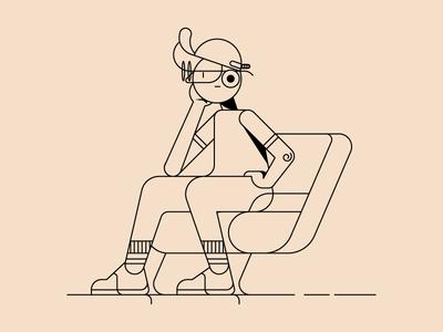 Thinking Chair + Cap