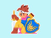 Slaptastick 001 | Dragon Quest - Erdrick