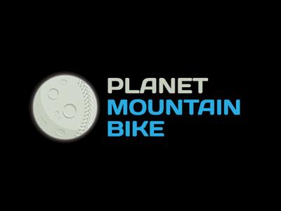 Planet mountain bike logo