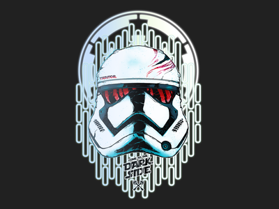 Stormtrooper stormtrooper illustration helmet design star wars art starwars design design art characterdesign character art