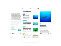 News app for iOS