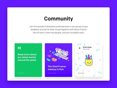Framer Community code web macos icon prototype design editor interactive gif ui framerjs framer