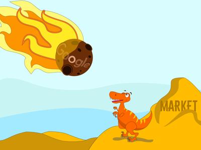 Illustration meteorite ai market google dinosaur dino nl api illustration art illustration