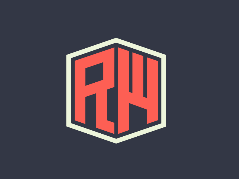 Rw Personal Logo By Ross Dribbble