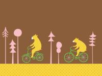 Bears On Bikes