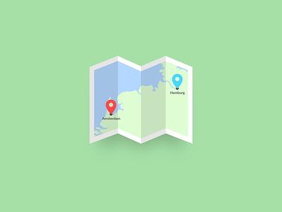 Location Tracker – Daily UI #020 tracker location 020 dailyui