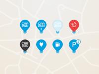 car2go – Map Pins