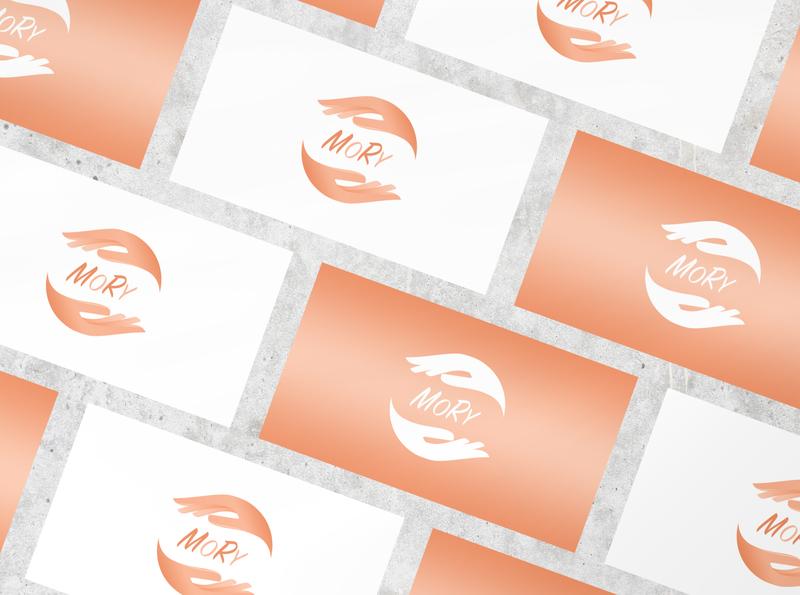 MORY Care logo 💁🏼♀️ branding design عربي branding brand design brand identity logo design logo