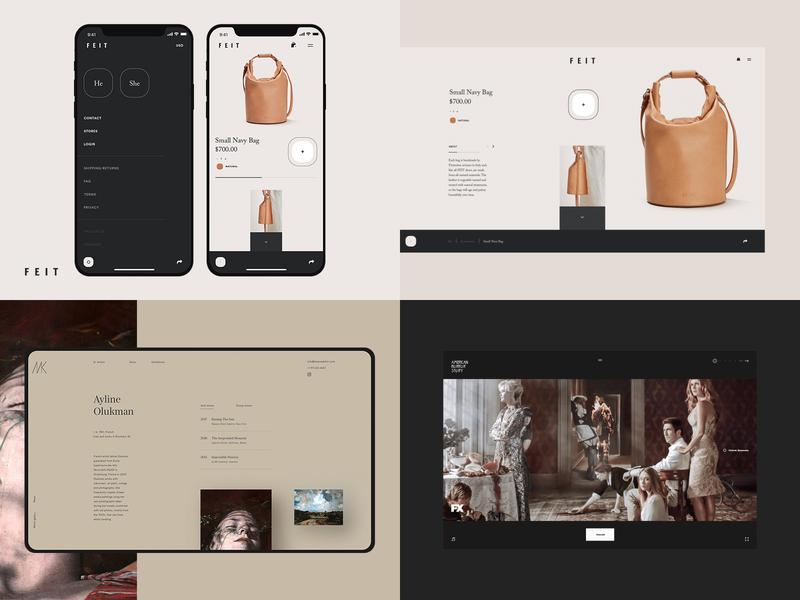2018 typography fullscreen desktop webdesign webdesig ecommerce photo concept minimal clean design web creative ux ui