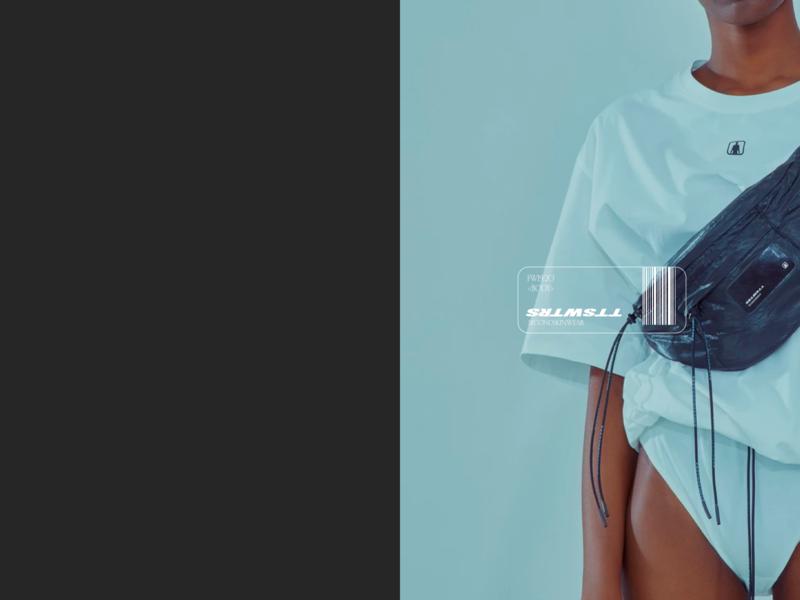 TTSWTRS design webdesign typography ecommerce minimal concept web creative ux ui
