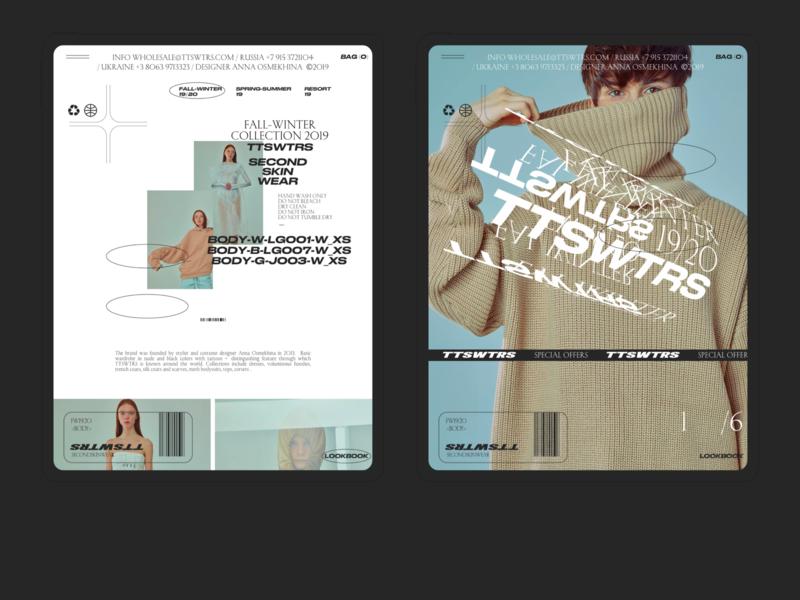 TTSWTRS | Ipad mobile webdesign ecommerce minimal concept design web creative ux ui