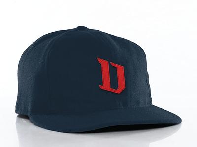 D is for Dauphin Redbirds redbirds dauphin sports logo hat felt cap baseball