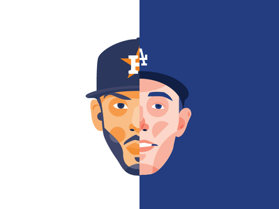 2017 World Series - Game 3 mlb cody bellinger carlos correa world series baseball