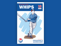 Winkler Whips - Program Cover