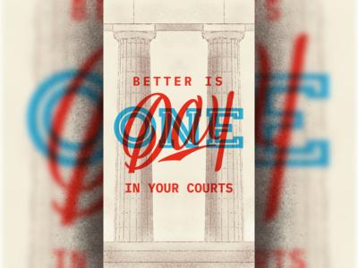 One Day - Wallpaper wallpaper sans serif script typography design illustration