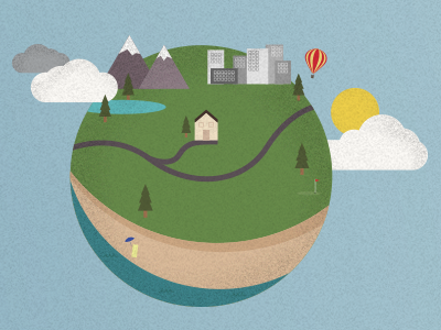 World Illustration (WIP) website illustration design vector graphic ui