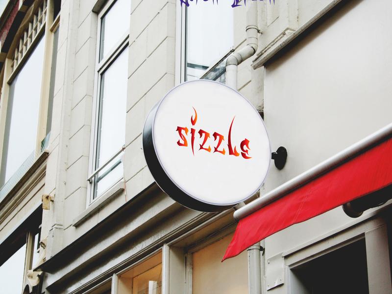 Daily Logo #10: Sizzle