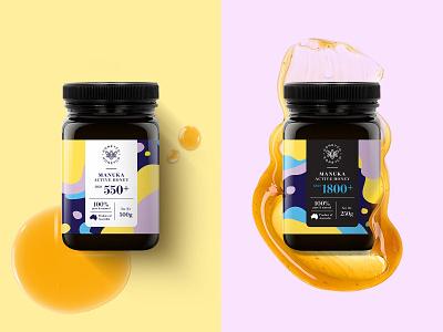 HONEYCO – Honey Packaging Design key visual packaging brand identity illustration typography type branding logo honeyco honey honey packaging brand design packaging design
