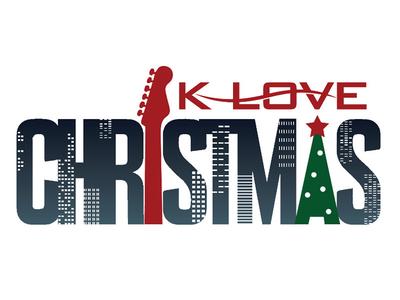 K-LOVE Christmas Logo logo k-love