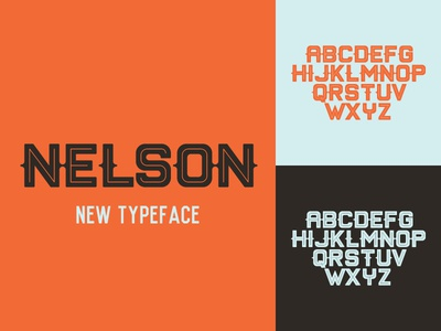 Nelson Typeface