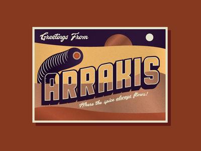Arrakis postcard
