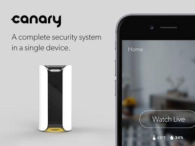 Canary iOS App Preview