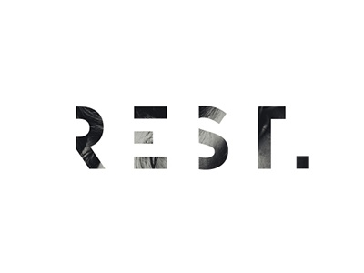 REST logo mask concept shadow