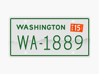 State Plates Project - Washington