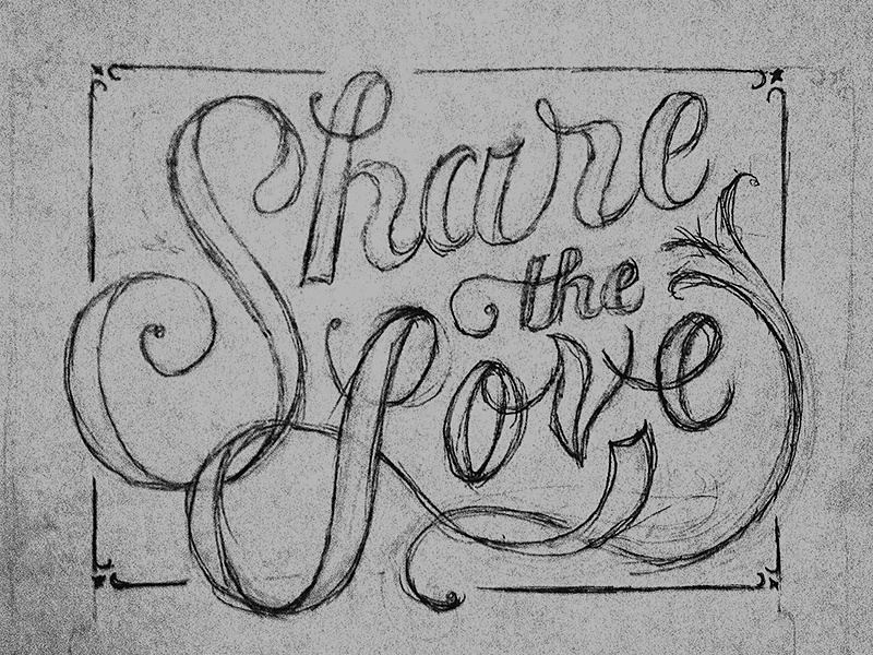 Share the Love sketch type
