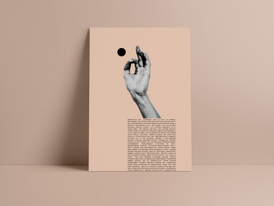 Visual Playground No1 poster a day abstract layout visual design art poster design poster